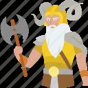 barbarian, god, nordic, norse, viking, warrior, ymir