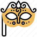 carnival, fancy, mask, masquerade, party