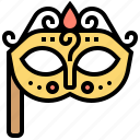 carnival, fancy, mask, masquerade, party icon