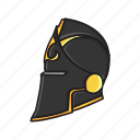 ancient, helmet, knight, melee, weapon