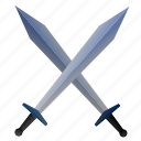 ancient, blade, fight, rome, sword, war icon