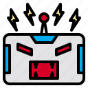 angry, be, business, employment, robot, suit, using