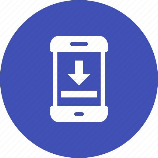 connection, data, download, internet, mobile, save, storage icon