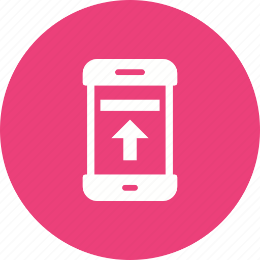 connection, data, internet, mobile, save, storage, upload icon