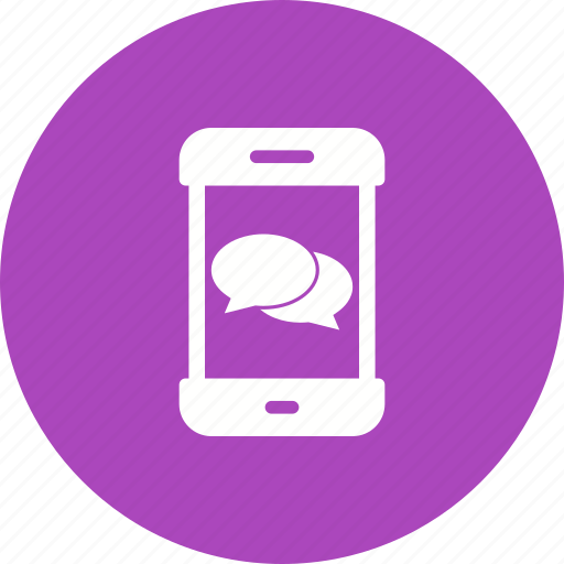 App, conversation, message, mobile, notification, phone, sms icon - Download on Iconfinder