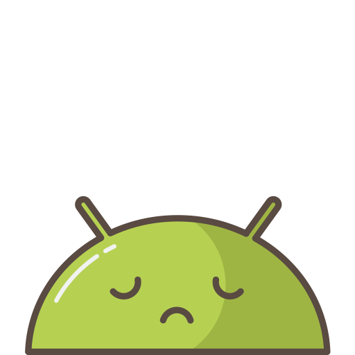 android, emoji, mobile, mood, robot, sad icon