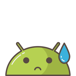 android, emoji, mobile, mood, robot, sad, tear icon