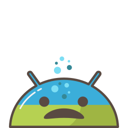 android, emoji, ill, mobile, mood, sick, trouble icon