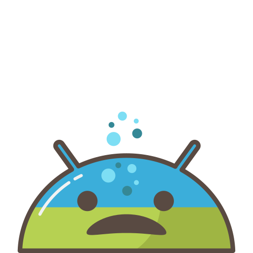 android, emoji, ill, mobile, mood, sick, trouble icon