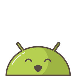android, emoji, happy, mobile, mood, smile, successful icon