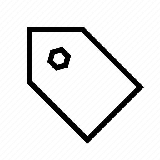 common, general, mark, price, tag icon