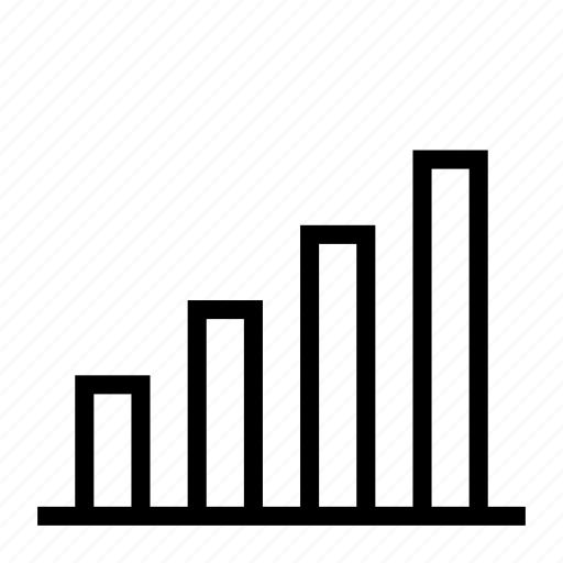 analytics, bar, business, chart, increase, report, statistic icon