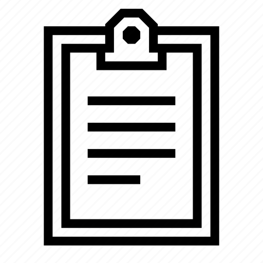 clipboard, content, copy, editor, paper, work icon