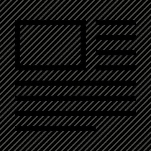 content, layout, left, paragraph, text, top, wrap icon