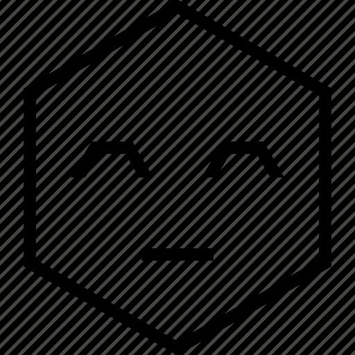avatar, bored, dull, emoji, emotion, face icon