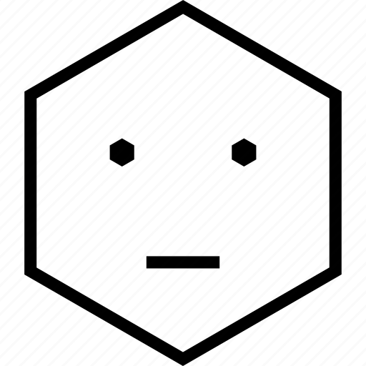 avatar, bored, dull, emoji, emotion, face, speechless icon