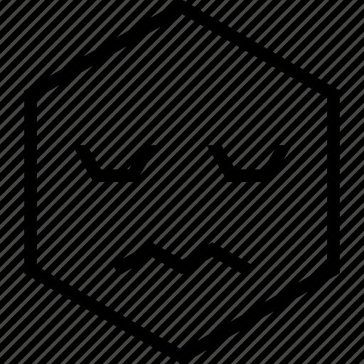 emoji, emotion, face, fearful, scared icon