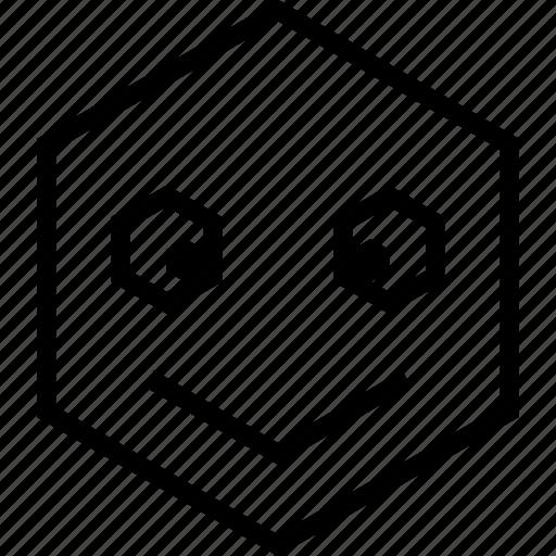 avatar, emoji, emotion, face, happy, smile icon