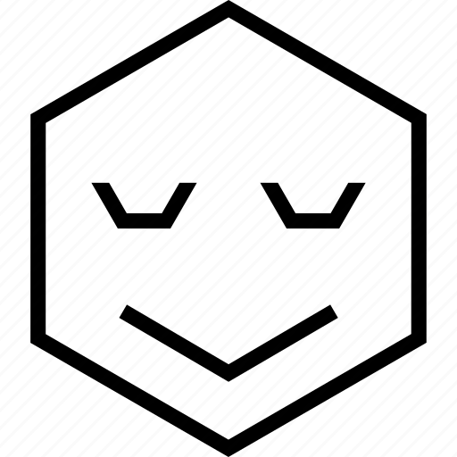 avatar, daydream, emoji, emotion, face, happy, smile icon
