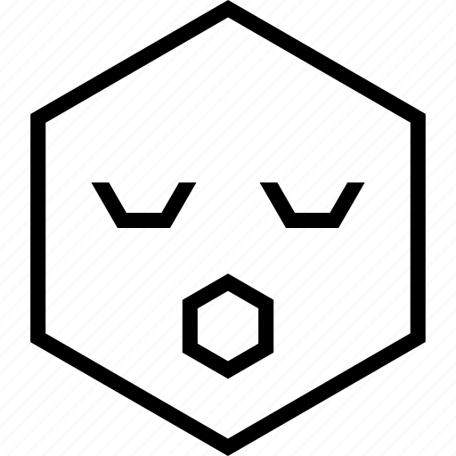 avatar, emoji, emotion, face, surprised icon