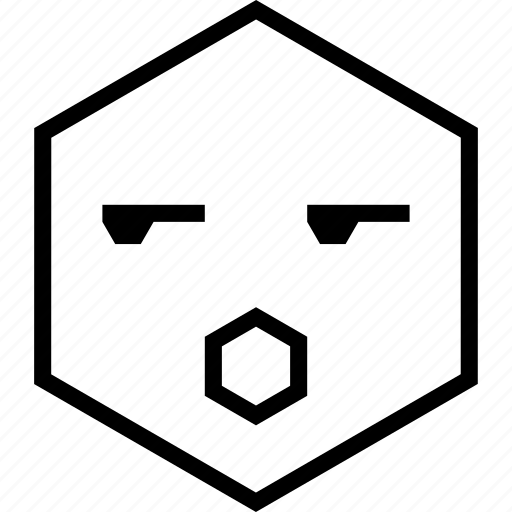 avatar, bored, emoji, emotion, face, surprised icon