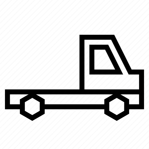 camion, lorry, traffic, transport, vehicle, wagon icon