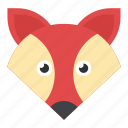animal, coyote, fox, wildlife, wolf icon