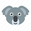 animal, cartoon character, koala bear, wallaroo, wombat
