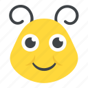 butterfly head, fly, insect, moth, springtime animal icon