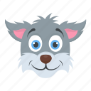 animal, cat face, kitten, pet, tomcat icon