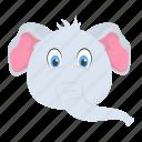 elephant, mammal, pachyderm, wild animal, zoo
