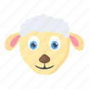 animal, farm, lamb, livestock, sheep icon