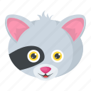 animal, cartoon character, koala bear, wallaroo, wombat icon