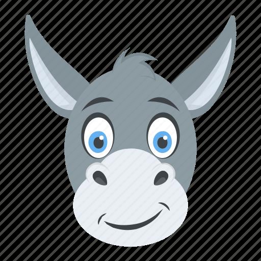 Animal, ass, donkey, mule, okapi icon - Download on Iconfinder