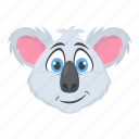 animal, bear, koala, wallaroo, wombat icon