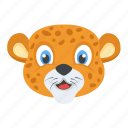 animal, leopard, lion, panthera leo, tiger icon