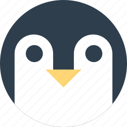 animal, antarctic, cartoon, face, penguins icon