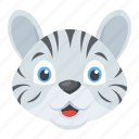 white tiger, wildlife, animal, cartoon character, cub