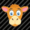 camel, cartoon camel, cattle, desert animal, wildlife icon