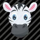 mammals, safari animal, wildlife, zebra face, zoo animal