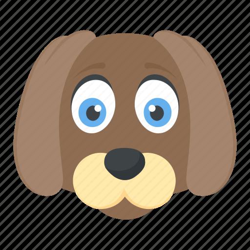 animal, basset hound, dog, pet, puppy icon