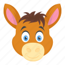 animal, baby horse, bronco, foal, mare icon