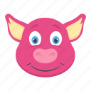 baby pig, boar, forest animal, mammal, tapir icon