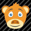 fluffy animal, forest animal, kinkajou, wildlife, zoo animal icon