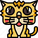 animal, cat, kitty, mammal, pet icon