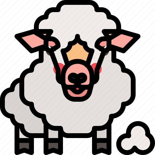 animal, farm, lamb, mammal, sheep icon
