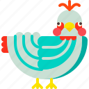 animal, bird, pigeon, wildlife, wings icon