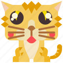 animal, cat, kitty, mammal, pet icon