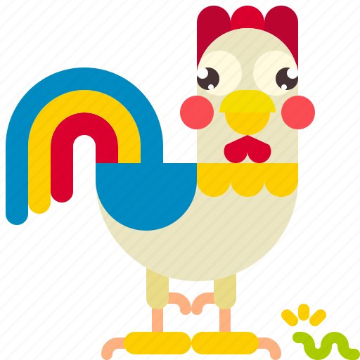 animal, chicken, farm, hen icon