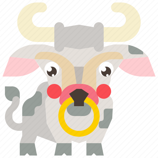 animal, cow, farm, mammal, milk icon